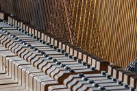 Tastenmechanik eines Klaviers