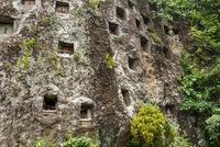 Die Felsengräber von Lemo sind eine Hauptattraktion in Tana Toraja