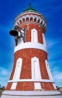 Kaiserschleuse Ostfeuer, im Volksmund Pingelturm genannt, Bremerhaven - the famous Pingelturm at Bremerhaven, Germany