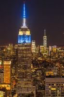 Empire State Building (taken from the Rockefeller Center Observation Deck)