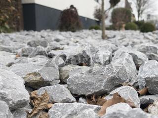 gravel front garden