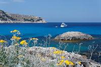 Bucht bei Cala Lliteras auf Mallorca
