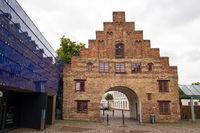Hausfassaden 006. Flensburg. Deutschland