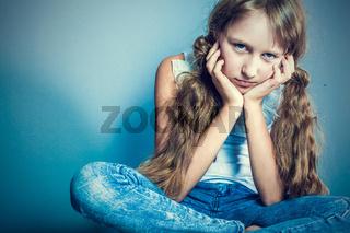 Image of young stylish girl