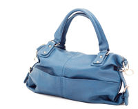 Beautiful elegant ladies handbag blue