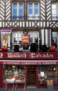 Calvados Shop, Normandie, France