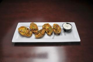 Delicious Potato Skins