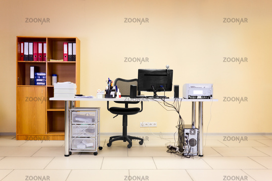 Office working place