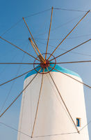 Windmill on Greek island