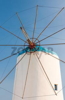 Windmill on Greek island