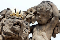 Skulptur Prager Burg
