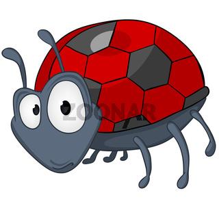 Cartoon Character Ladybird