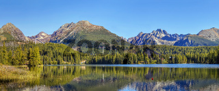 Strbske Pleso (lake), Slovakia
