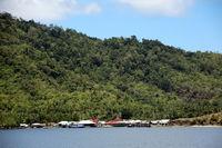 Fischerdorf Bokimiake auf der Insel Mauri
