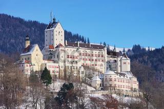 Hohenaschau Schloss - Hohenaschau castle 01