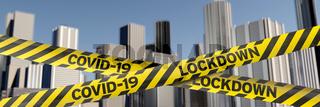 Corona Lockdown in the city