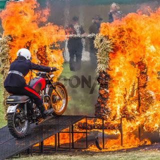 British Army Motorcycle Display Team