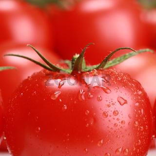 Nahaufnahme einer Tomate