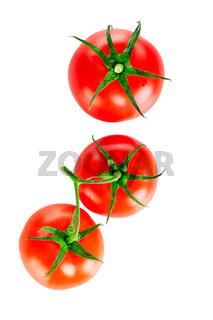 Fresh tomato fruits