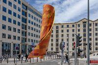 Place d'Arvieux, Euromédterranée, Marseille