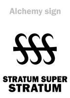 "Alchemy: STRATUM SUPER STRATUM (""Layer on Layer"")"