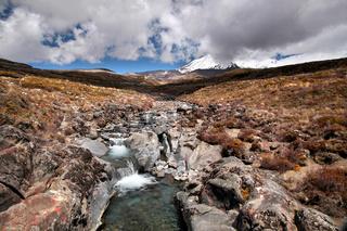Bach im  Tongariro Nationalpark