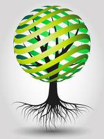 Eco Tree Illustration