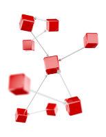 Connections diagram concept