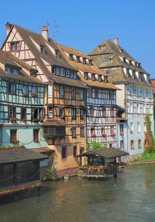 im Petite France,Altstadt von Strassburg