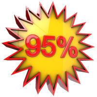 Star off ninety five percent