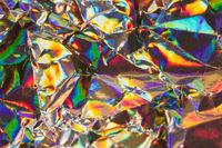 Metallischer Hintergrund in bunten Farben