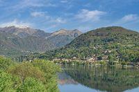 der Orta-See im Piemont,Italien