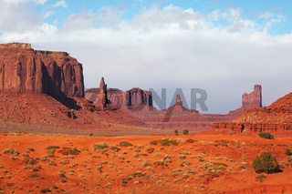 The majestic Monument Valley