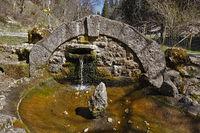Schäferbrunnen im Schäfertal bei Böttingen/Mahlstetten, Schwäbische Alb