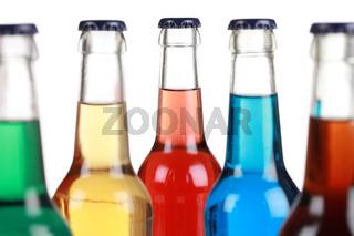 Getränke in Glasflaschen