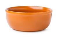 Deep clay bowl