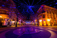 Christmas Decorations in Burgas