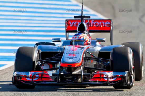 Team McLaren F1, Jenson Button, 2012