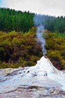 Volcanic vapor