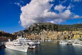 Yachthafen von Monaco