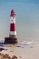 BEACHY HEAD, SUSSEX, UK - MAY 11 : The lighthouse at Beachy Head in Sussex on May 11, 2011