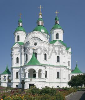 Cathedral of the Nativity (1752-1763) in Kozelets (Chernihiv region, Uklraine)