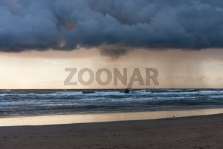 Regen am Meer, Rain at the Sea