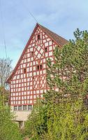 Ökonomiegebäude Schleitheim, Kanton Schaffhausen, Schweiz
