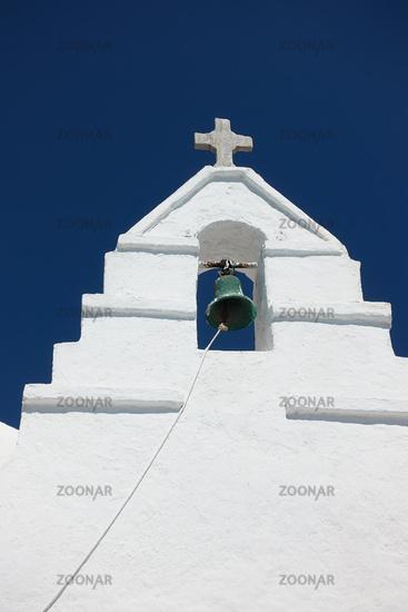 Bell tower in Mykonos