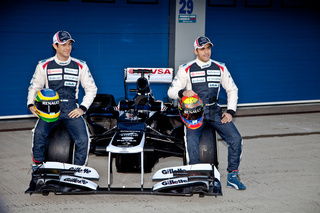 Presentation of the Williams FW34, 2012