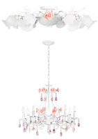 Honeymoon vintage lamps | Isolated