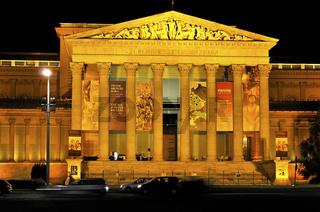 Das Museum der bildenden Künste in Budapest