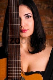 acoustic guitar performer