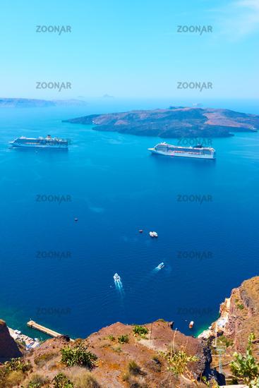 Aegean Sea from Santotini
